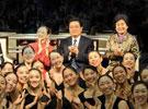 胡锦涛看望松山芭蕾舞团