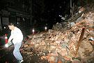 攀枝花大田镇部分民房被震毁