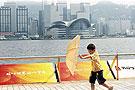 台风鹦鹉袭来香港所有学校停课