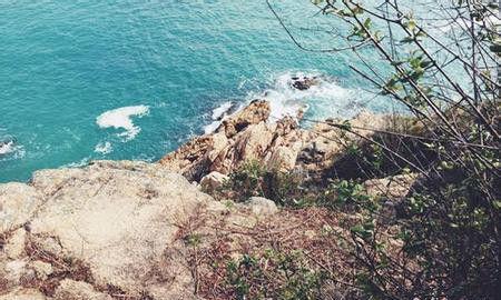 自杀前,江绪林在微博贴出香港长洲岛的照片