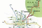 北京市轨道交通线网