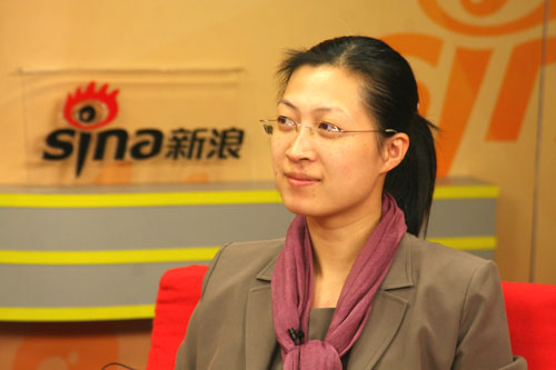 中国人民大学招生办副主任金驰华做客新浪谈09高招