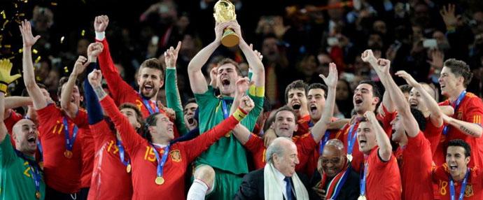 西班牙获得世界杯冠军