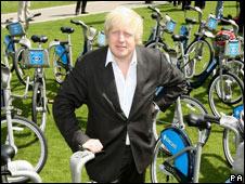Boris Johnston, London Mayor