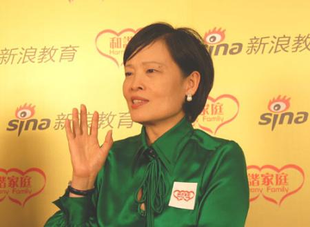 心理专家金韵蓉女士