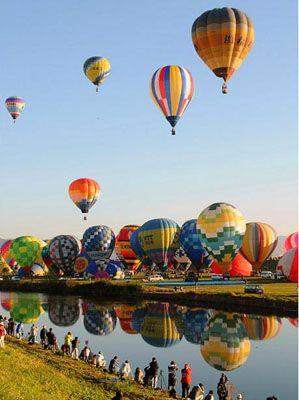 贺兰国际热气球节开幕了