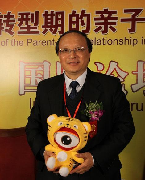 幸福泉儿童发展集团的创始人陈淮教授接受新浪嘉宾聊天室专访