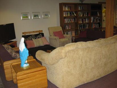 宿舍的公共休息室