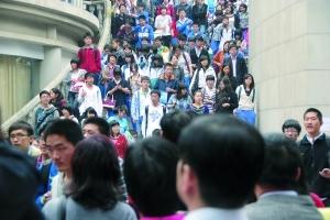 去年2月27日,中山大学自主选拔录取考试在中山大学南校区举行。