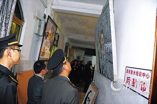 检查人员赶到莫奈画室时,发现已是人去楼空。林良田/摄