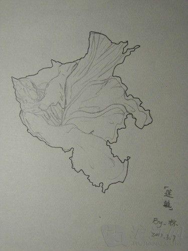 高中女生创作中国省份美女地图引追捧