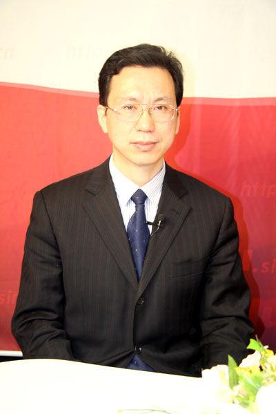 西安交通大学招生办主任郑庆华做客新浪