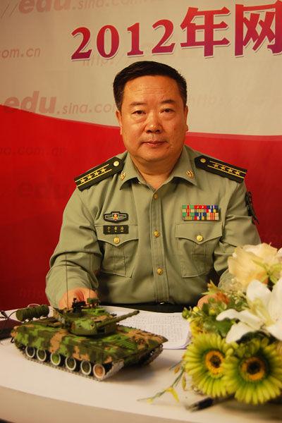 中国人民解放军装甲兵工程学院政治部主任于希海大校做客新浪