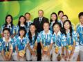 我校奥运志愿者代表