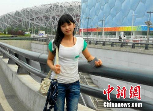 中国人民大学政府管理学院大二学生张小慧。