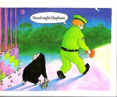 幼儿英文绘本教学探讨之《晚安大猩猩》