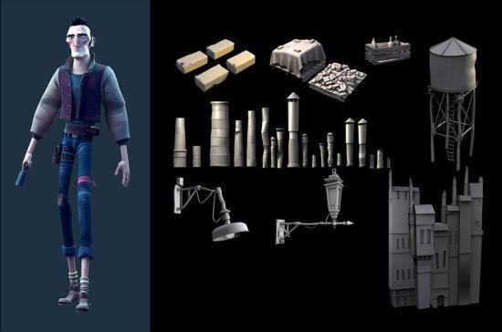 学生动画作品-3D人设