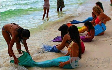 菲律宾美人鱼学院:教你如何做美人鱼(双语)