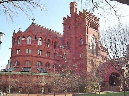 费城宾州大学费歇艺术图书馆。(资料图)
