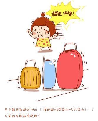 《漫漫小妞留学记》(2):飞机上的那一路(图)