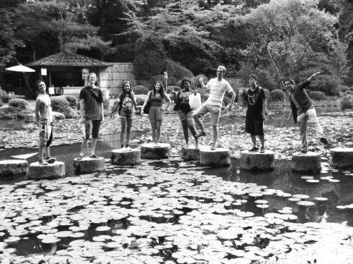 美国达特茅斯学院的学生参观京都大学