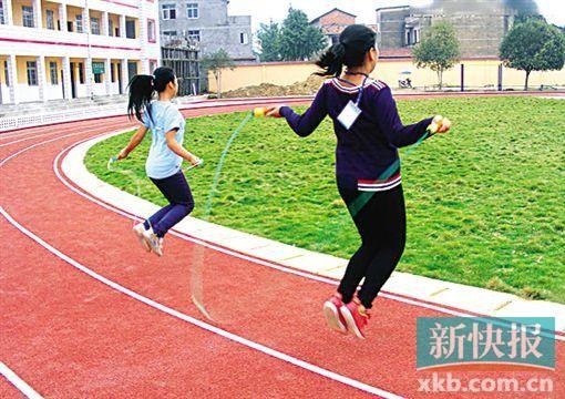 小学生跳绳请专业家教?图片