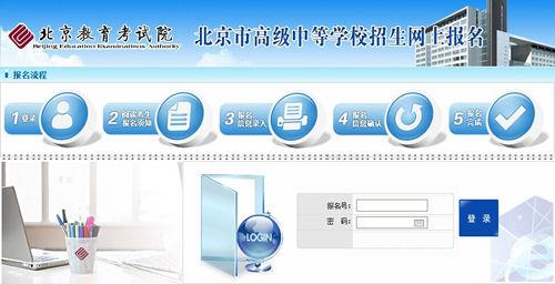 2015北京中考报名入口