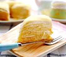 当下最时髦又香又臭的蛋糕榴莲千层蛋糕