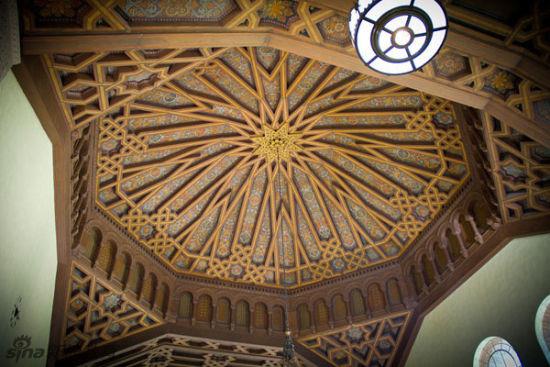 美国加州州立大学,洛杉矶分校,鲍威尔图书馆。Powell library, UCLA, Los Angeles, CA