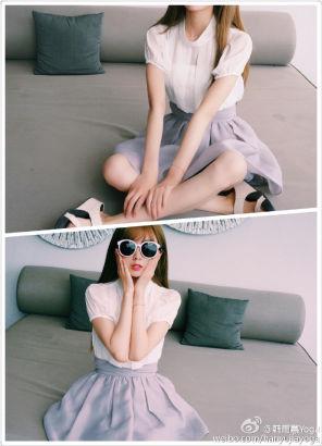苏大超嫩校花赞中国最美showgirl(组图)