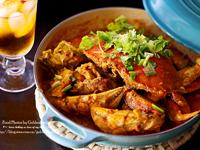 韩式铁板辣酱螃蟹