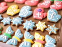 圣诞节礼物霜糖饼干