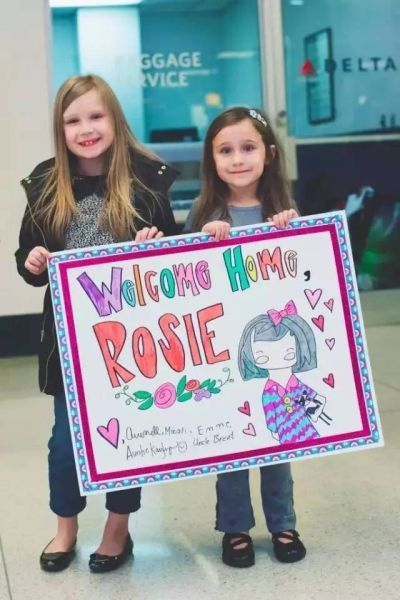 Welcome Home Rosie