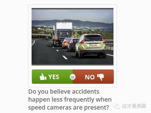 你相信安装限速摄像头可以减少交通事故的频率么?   相信(40%),不相信(60%)