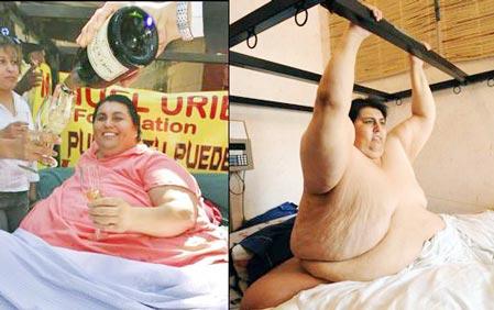 全球减肥狂人大比拼:英减肥冠军等