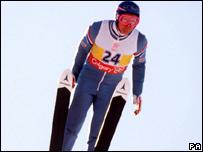 British ski-jumper Eddie 'the Eagle' Edwards