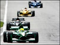 A Formula One race