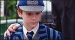 Boy in a school cap