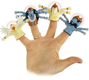 趣味俚语:每个手指都有大秘密(图)