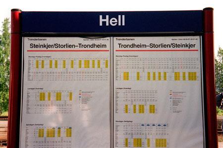 国外九个超级搞笑的地名:Hell(组图)