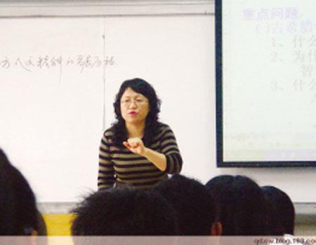 山东省优秀教师陈文为学生发展不懈努力