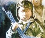 握枪的孩子