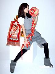杨丞琳拍新春贺卡