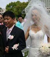 爸爸送女儿出嫁