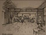 正厅手绘图