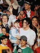 杰克逊与儿童