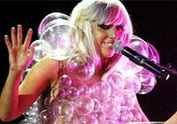 Lady Gaga09年雷人着装大盘点