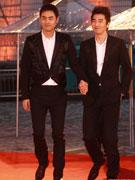 阮经天(左)赵又廷