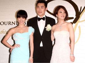蔡依林担任美丽伴娘 参加姐姐婚礼