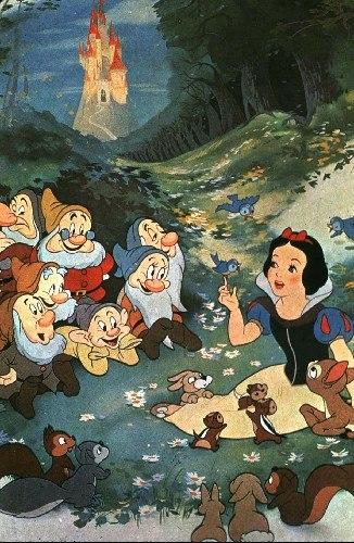动画片《白雪公主和七个小矮人》是诺兰对电影最早的记忆百度网盘可以存小电影m图片